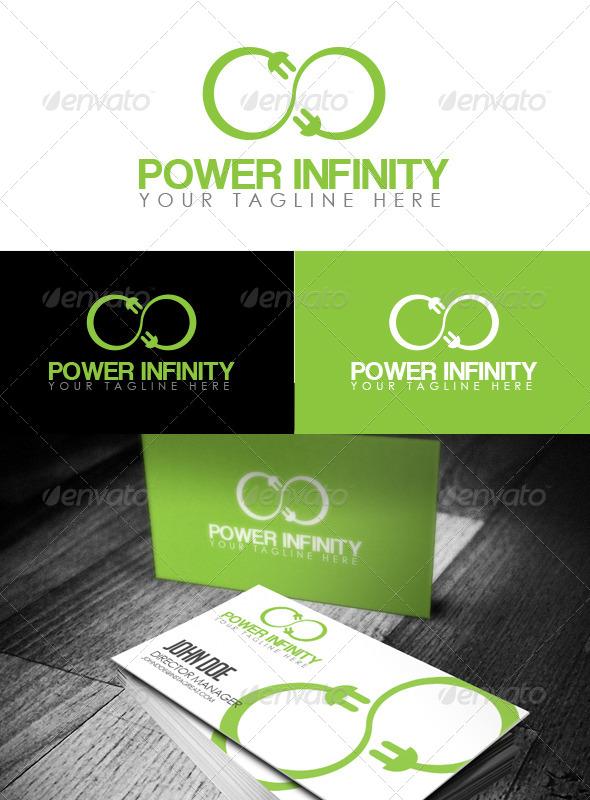 GraphicRiver Power Infinity Logo 6493087