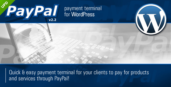 PayPal Payment Terminal Wordpress - CodeCanyon Item for Sale