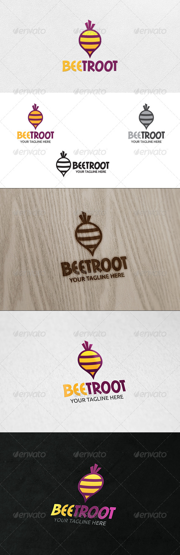 GraphicRiver Beetroot Logo Template 6493780