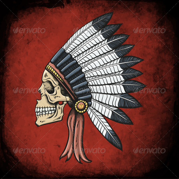 GraphicRiver Indian Dead Man 6494083
