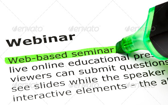 PhotoDune Web-based Seminar Highlighted under Webinar 679207