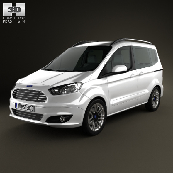 3DOcean Ford Tourneo Courier 2013 6494133