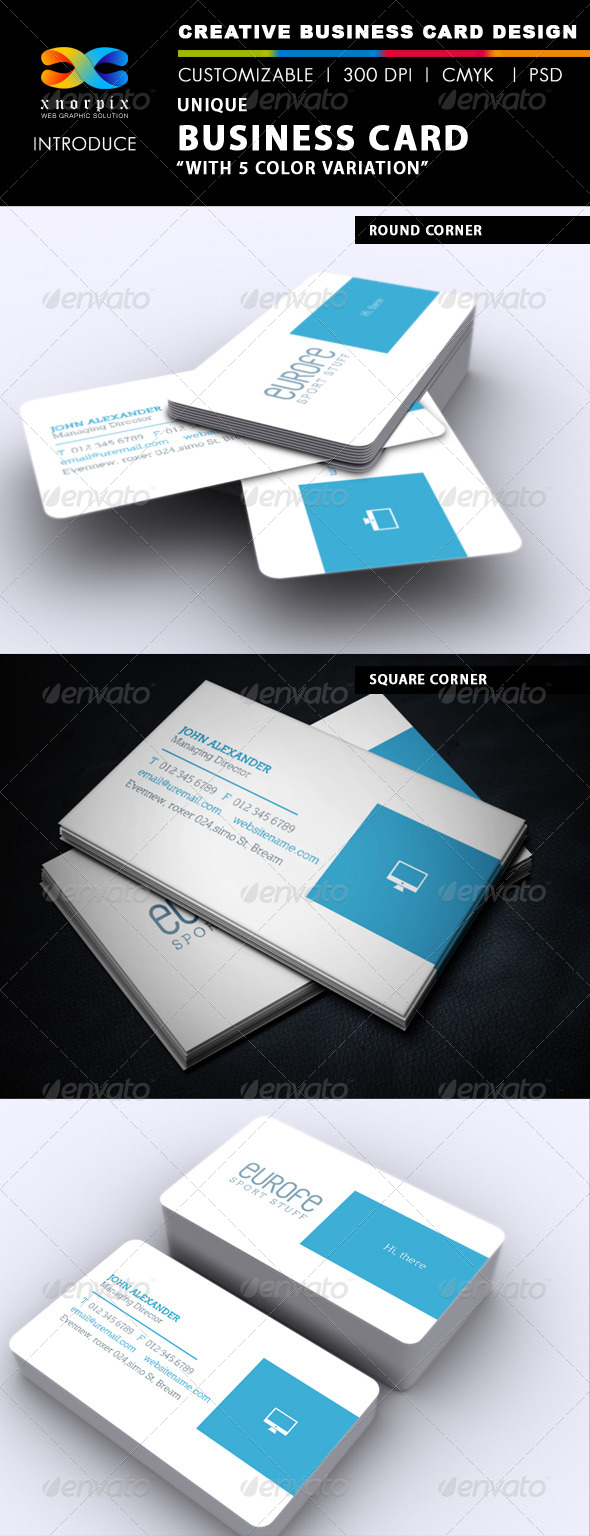 GraphicRiver Clean Business Card 6494338