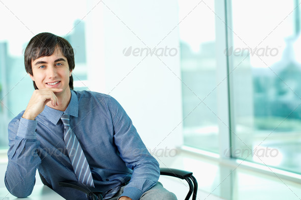 White collar worker - Stock Photo - Images