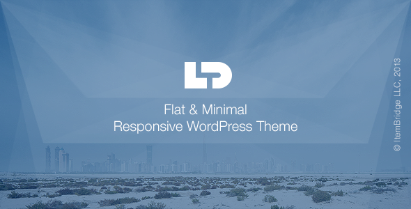 LightDose — Flat&Minimal WordPress Theme