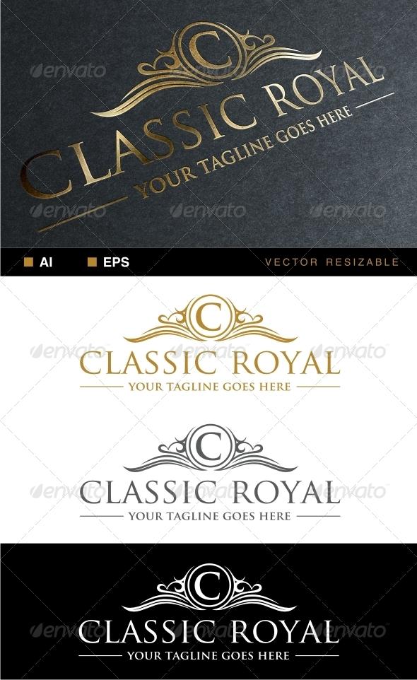 GraphicRiver Classic Royal Logo 6486036