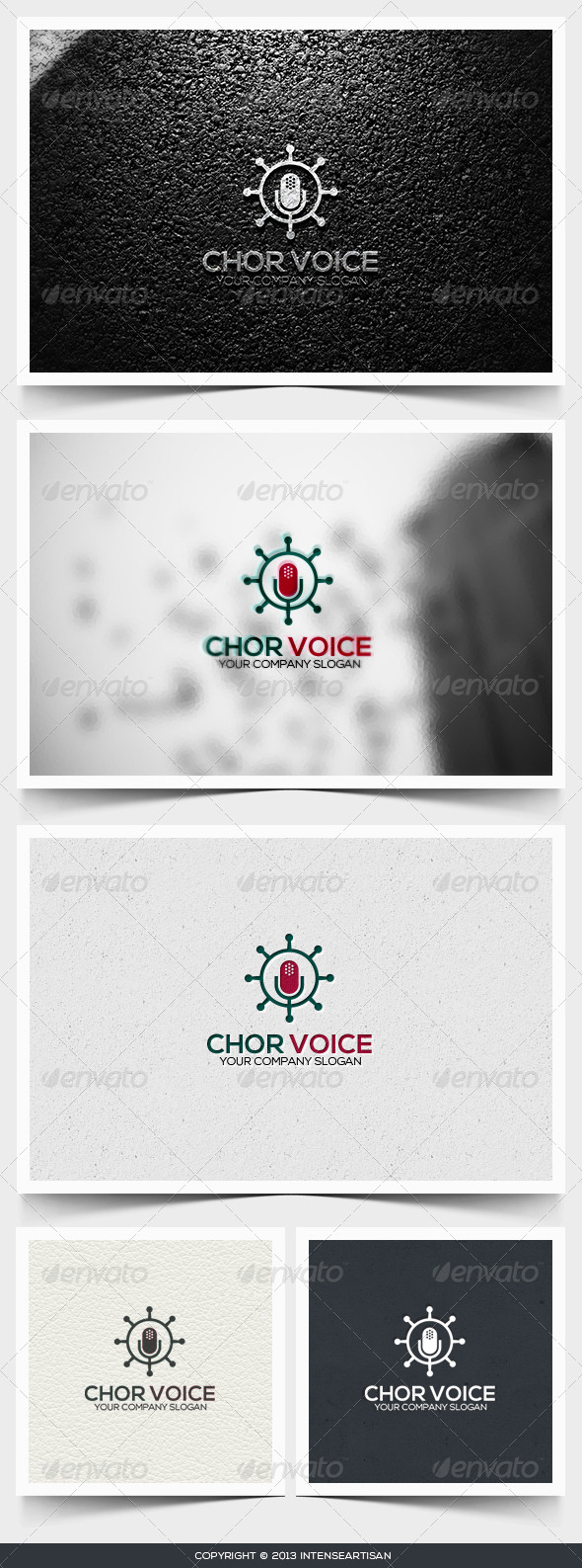 GraphicRiver Chor Voice Logo Template 6494817