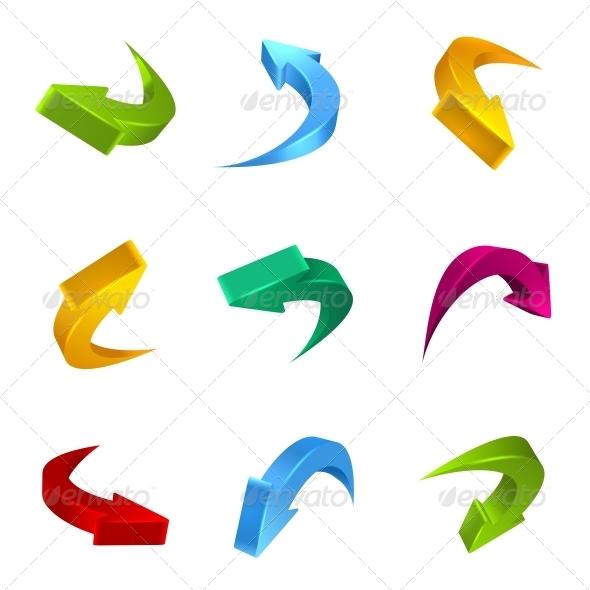 GraphicRiver Arrows 3D 6494959