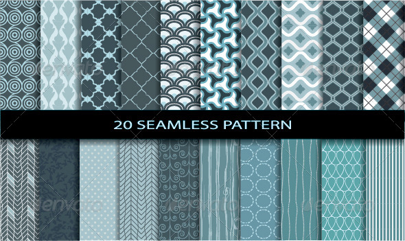 GraphicRiver 20 Seamless Patterns 6495006