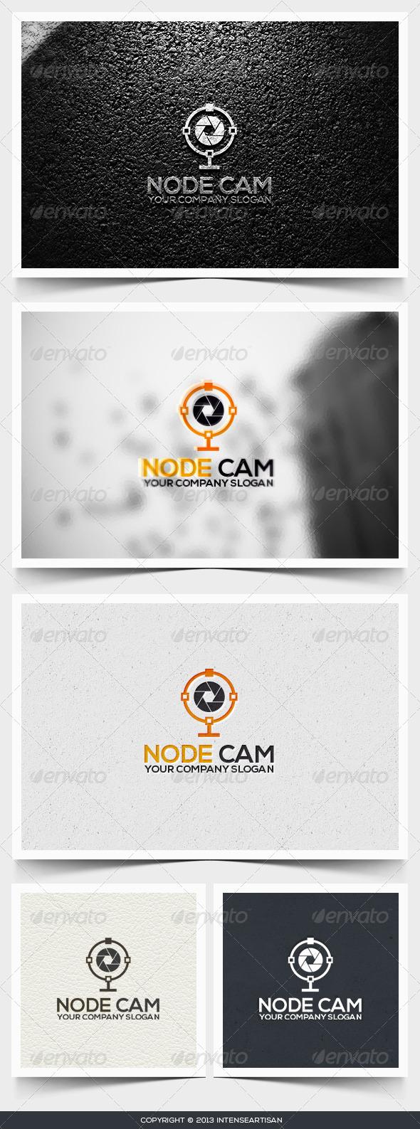 GraphicRiver Node Cam Logo Template 6495090