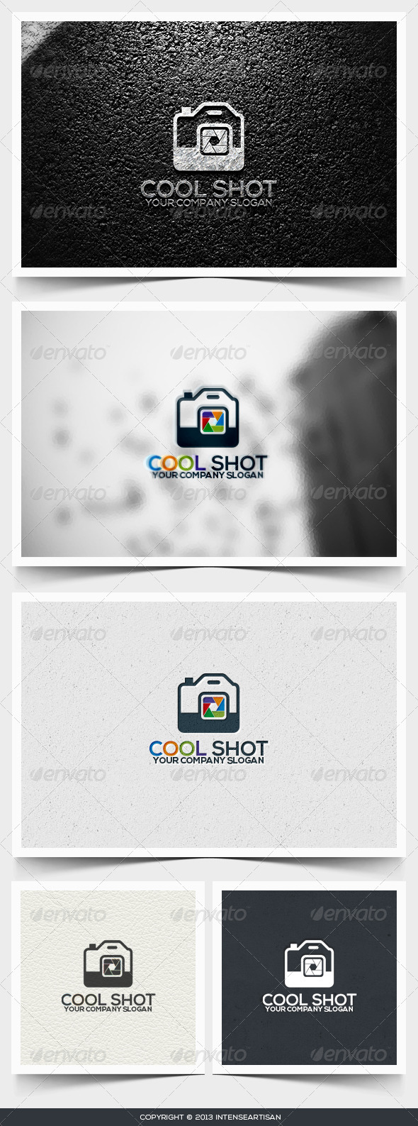 GraphicRiver Cool Shot Logo Template 6495194