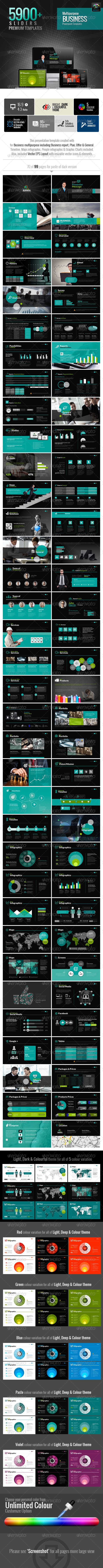 GraphicRiver MultiEco Business Template 6436064