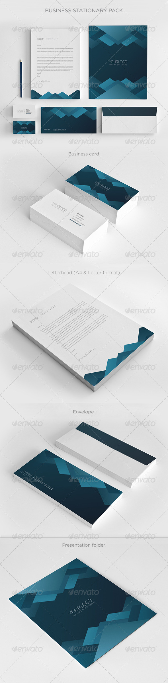 GraphicRiver Business Stationary Pack III 6495632