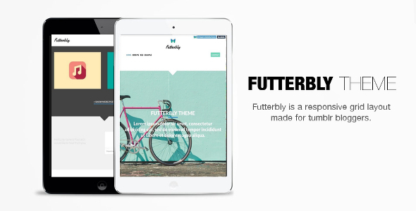 Futterbly – Responsive Tumblr Theme (Tumblr) images