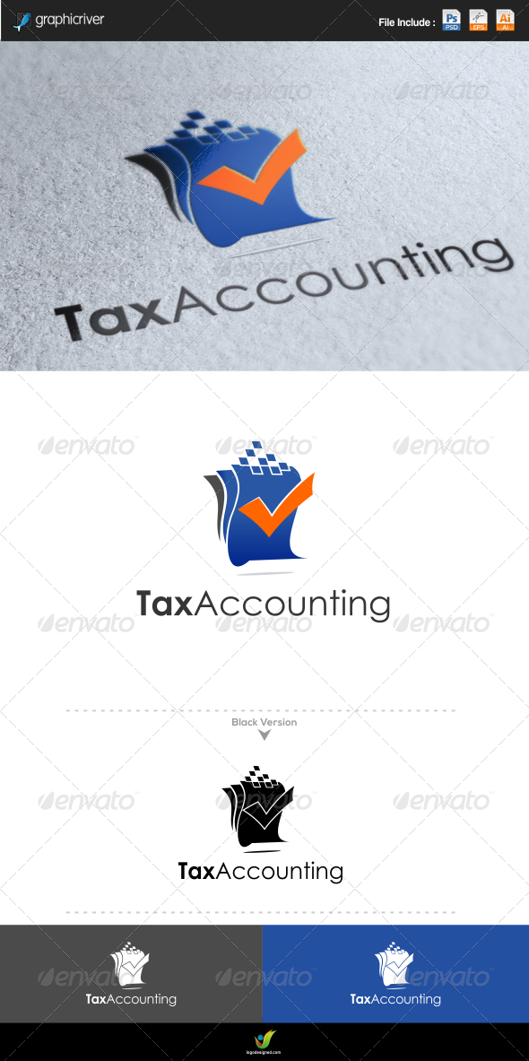 GraphicRiver Tax Accounting 6495863