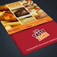 A4 Fast Food Menu + Poster + Flyer + Cards - GraphicRiver Item for Sale