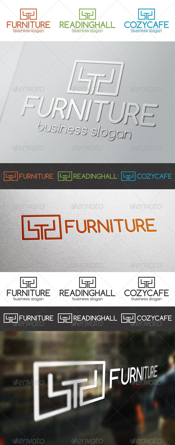 GraphicRiver Furniture Multi Purpose Logo 6496689