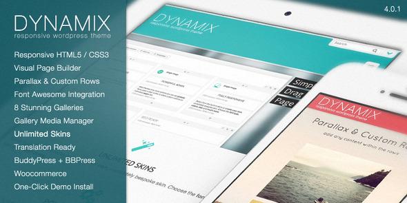 Theme para WordPress para Comunidad Online DynamiX