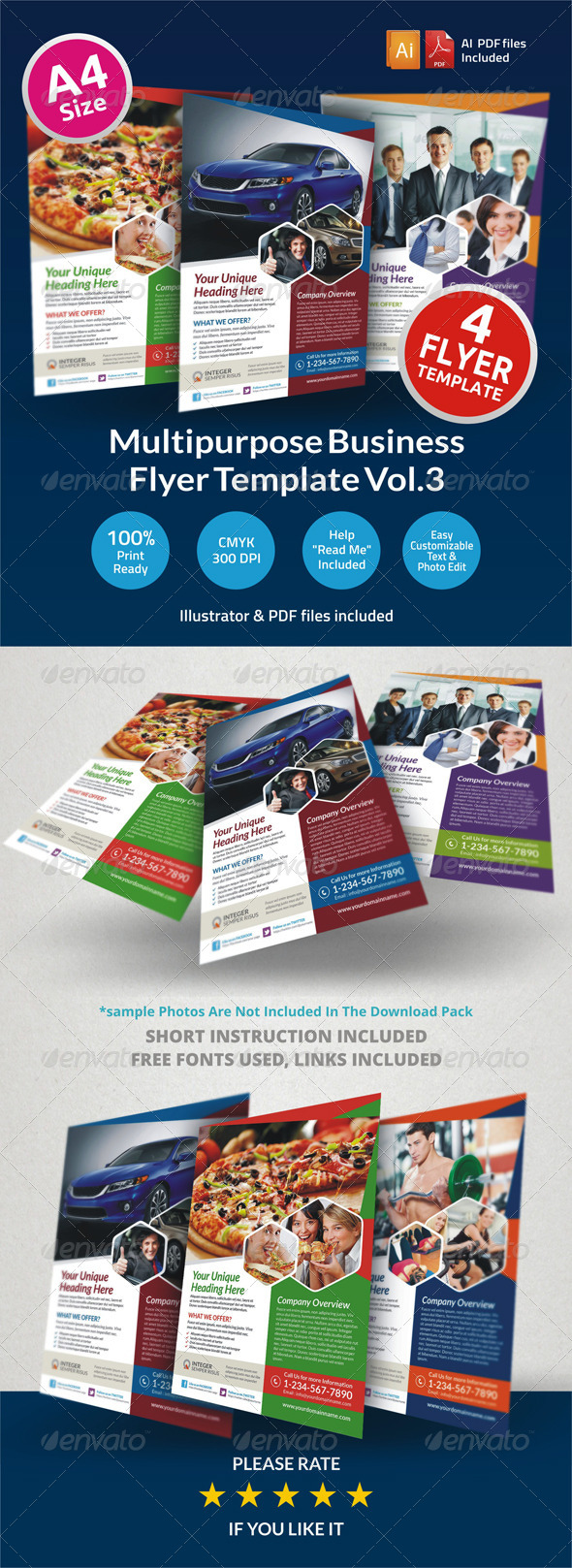 GraphicRiver Multipurpose Business Flyer Vol.3 6497326