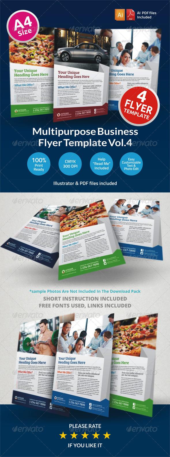 Multipurpose Business Flyer Vol.4