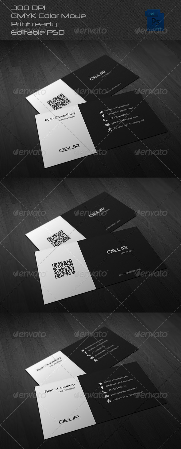 GraphicRiver Corporate Business Card 6497639