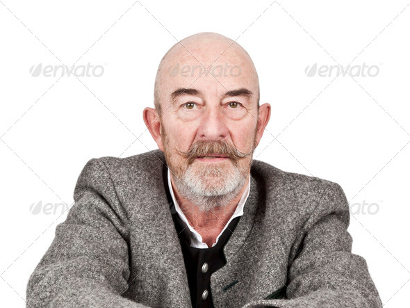 old man - Stock Photo - Images