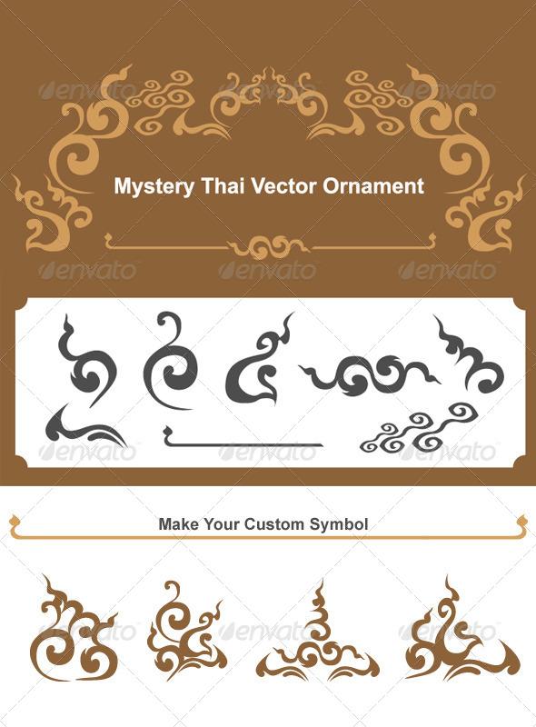 GraphicRiver Mystery Thai Vector Ornament 6497627