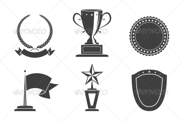 GraphicRiver Recognition Badges 6498008