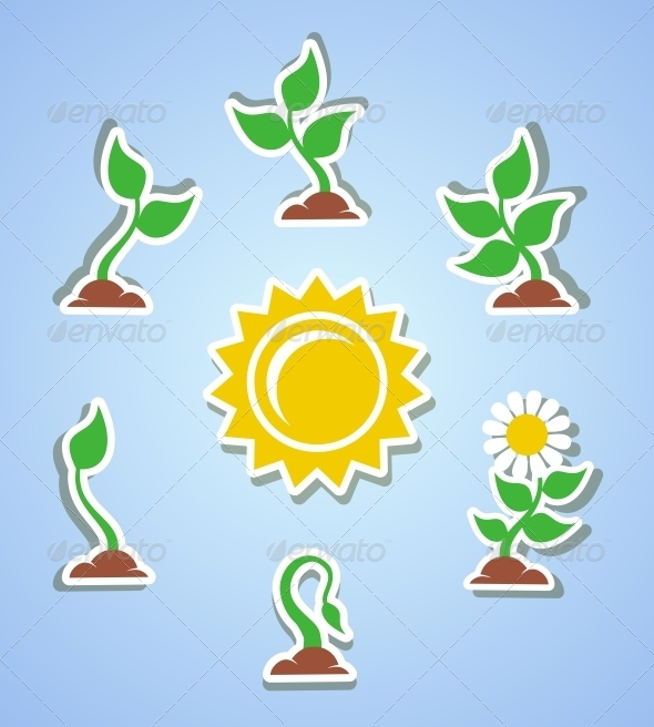GraphicRiver Growth Progress Icons 6498074