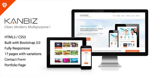 ThemeForest Kanbiz Modern Multi-Purpose HTML Template 6479912