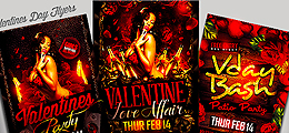 Valentines Flyer Templates