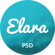 Elara - Multi-Purpose PSD Template