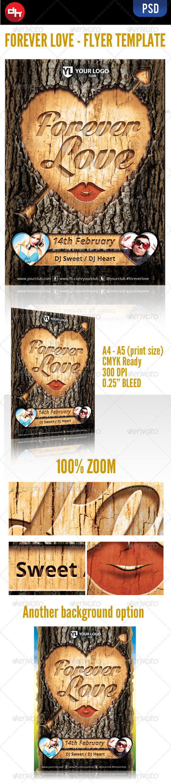 GraphicRiver Forever Love 6498589