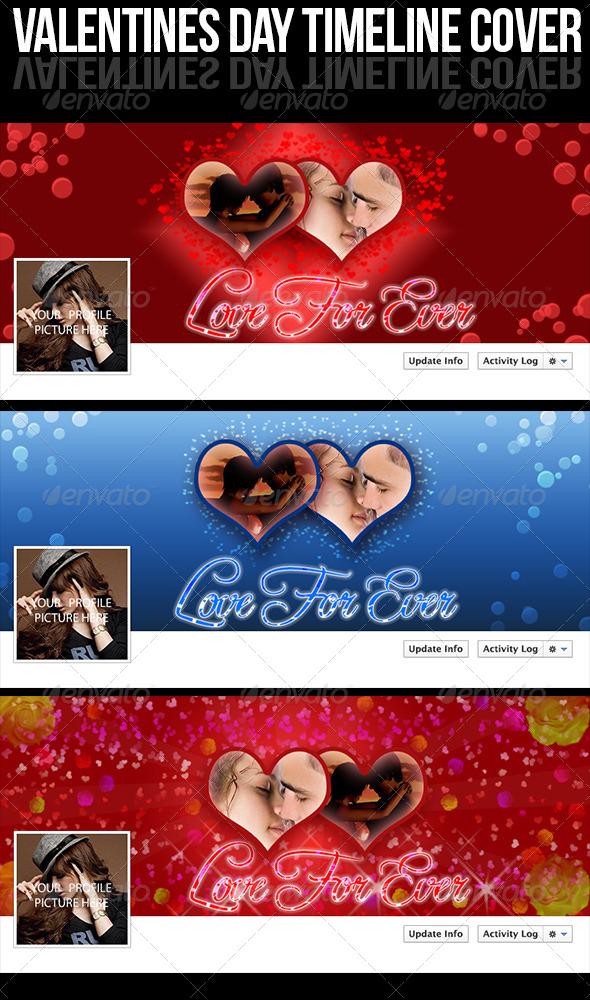 GraphicRiver Valentines Day Cover Photo 6498597