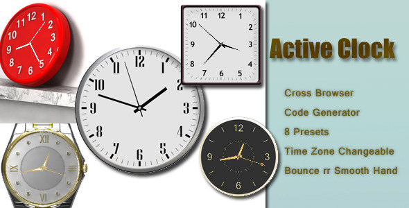 CodeCanyon Active Clock 6499050