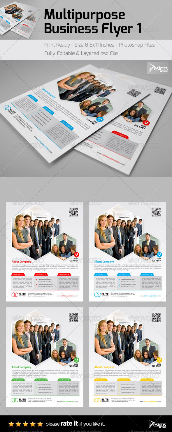 GraphicRiver Corporate Professional Flyer 6439659