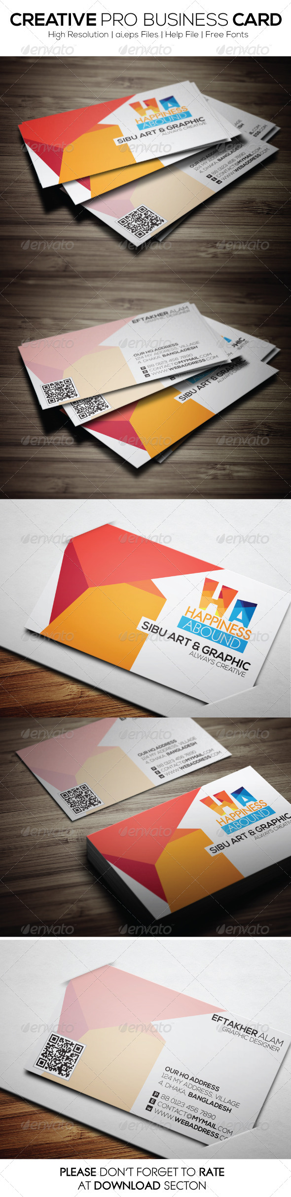 GraphicRiver Creative Pro Business Card 6499567