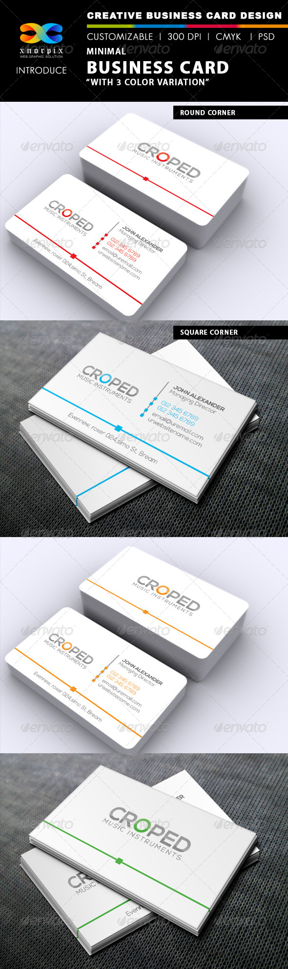 GraphicRiver Minimal Business Card 6499576