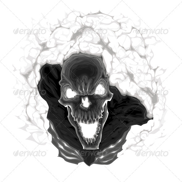GraphicRiver Black Skeleton 6499973