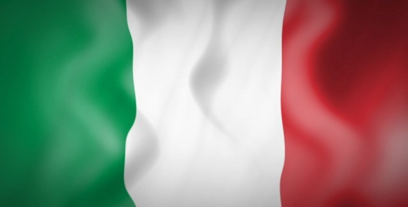 Italian Flag Animation