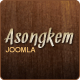 Asongkem - Premium Joomla Template - ThemeForest Item for Sale