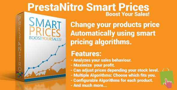 CodeCanyon PrestaShop Smart Prices Dynamic Pricing System 6500503