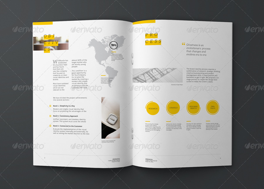 Graphic Design Project Proposal Template by CodeID – Graphic Design Proposal Example