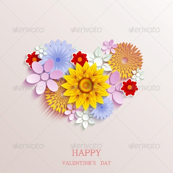 GraphicRiver Valentines Day Background 6501033