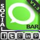 Simple Social Bar - CodeCanyon Item for Sale