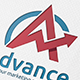 Advance A Letter Logo - GraphicRiver Item for Sale