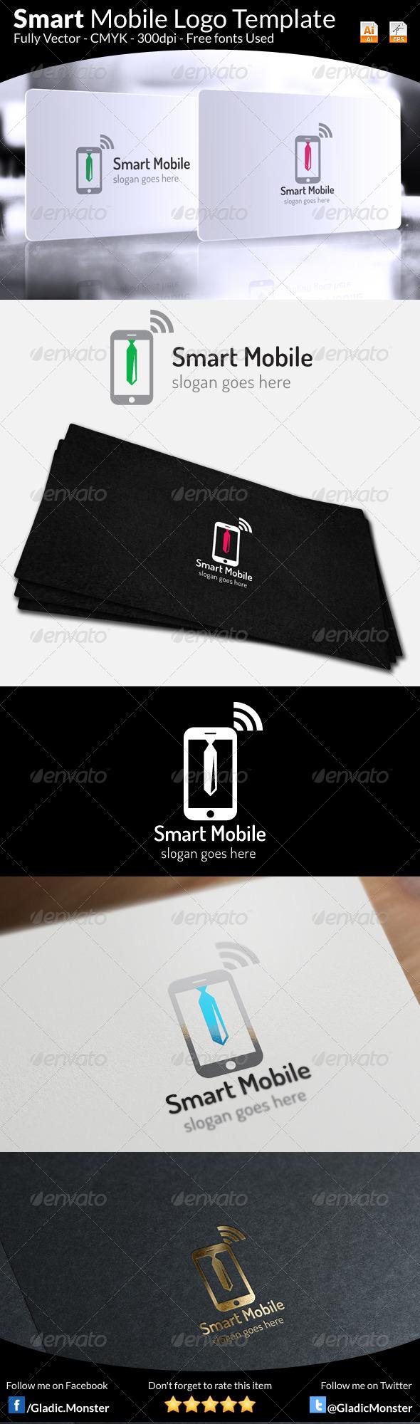 GraphicRiver Smart Mobile Logo Template 6501225