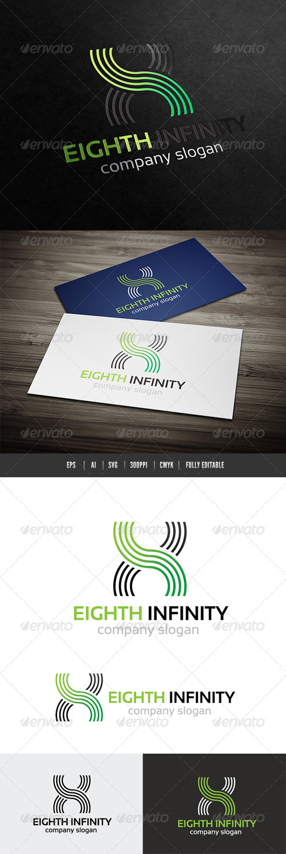 GraphicRiver Eight Infinity Logo 6501270
