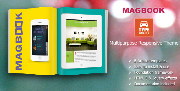 Magbook TypeEngine Template