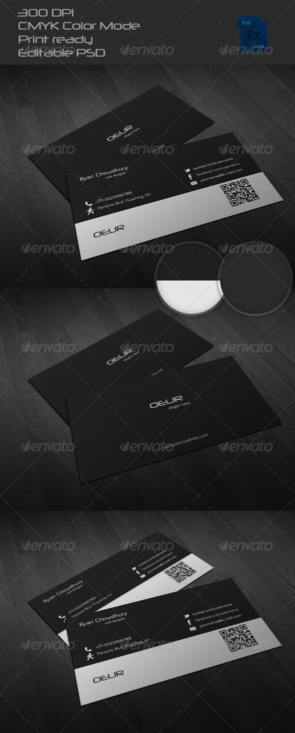 GraphicRiver Corporate Business Card 6501836